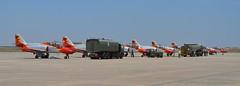 PATRULLA AGUILA E.A. (DAGM4) Tags: espaa spain militar ea aviones mirlo patrullaaguila ejrcitodelaire spanishairforce c101aviojet moronairbase culopollo baseareademorn