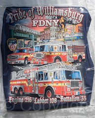 FDNY Engine 216, Ladder 108 & Battalion 35 T-Shirt, Williamsburg, Brooklyn, New York City (jag9889) Tags: nyc newyorkcity usa ny newyork brooklyn truck unitedstates unitedstatesofamerica engine tshirt firetruck williamsburg ladder fdny firedepartment apparatus bravest laddertruck 2015 firstresponder kingscounty newyorkcityfiredepartment pumpertruck e216 firedepartmentofthecityofnewyork jag9889 20150607