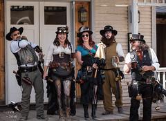 Steampunk Gathering (thePhotographerRaVen) Tags: arizona tucson goggles fantasy guns wildwest weapons steampunk oldtucson wwwc photosbyraven wwwc5