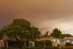Sand Fire July 23, 2016 (Gamma Infinity) Tags: sandfire losangeles smoke sky