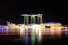 Marina Bay Sands (edison alday) Tags: fujifilm sooc mbs singapore landscape cityscape colors nightphotography architecture building reflection waterfront longexposure no edit