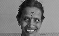 ! (Ramalakshmi Rajan) Tags: indians indianwoman woman womanpower smile blackandwhite blackwhite bw potraits portrait portraits casualshot nikond5000 nikkor35mm nikon