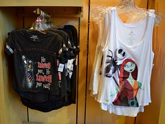 Disneyland Visit - 2016-07-17 - DTD - World of Disney - Jack and Sally Tops (drj1828) Tags: us disneyland visit 2016 anaheim downtowndisney worldofdisney jackskellington sally thenightmarebeforechristmas