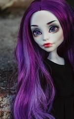 Violet (Klio.13) Tags: monster toys outdoors high dolls ooak spectra custom mattel customdolls dollphotography toyphotography handmadeoutfit monsterhigh spectravondergeist