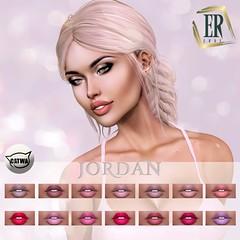Erde: lipstick Jordan PROMO (marshallhayleylittlewolf) Tags: catwa pomade makeup cosmetic mesh applier head erde lips lipstick jordan