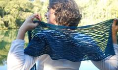 Xale Estuary (tricô em prosa) Tags: xale renda grátis knitty tricô algodão shawl lace knit knitting free handmade handknit