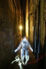 Illusion of Life (jannepaint) Tags: lightpainting lightdrawing longexposure edinburgh alley