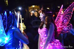 Rosetta (DecemberWishes) Tags: disneyland pixie fairy rosetta disneylandparade facecharacter pixiehollow paintthenight