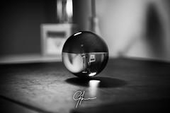 Upside Down Possibilities (Gilmour-Photography) Tags: crystal crystalball blackandwhite blacknwhite nikond810 nik silverefexpro gilmourphotography kevingilmour