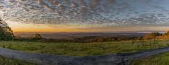 A 100 Kilometre (60 mile) View (andrew.walker28) Tags: sunrise early morning sun sunlight dawn red orange panorama brisbane valley ravensbourne national park queensland australia landscape mountains fog dams water mist lookout view vista clouds