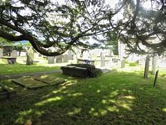 2511 Eglws Y Santes Fair graveyard (Andy panomaniacanonymous) Tags: 20160718 ccc church churchyard eglwsysantesfair ggg graveyard photostream stmaryschurch
