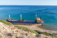 Shipwreck (decafeined) Tags: bozcaada shipwreck sea aegean canakkale turkey travel nature ship boat ayazma beach blue