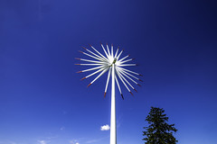 ...WindTurbine... (7H3M4R713N) Tags: olienne xt1 1024mm blueeyes sky fujinon1024mm romandie jura suisse flickrunitedaward birdshredder