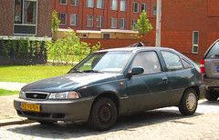 1997 Daewoo Nexia 1.5i GL (rvandermaar) Tags: 1997 daewoo nexia 15i gl daewoonexia cielo daewoocielo sidecode5 rzfd09