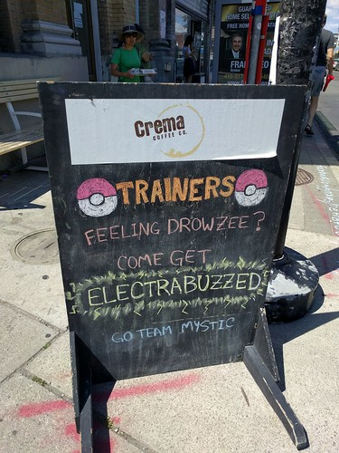 Crema Pokemon go stop #junctionTo by False Positives, on Flickr