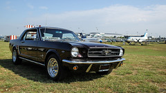 1965 Ford Mustang (Dorka Bus) Tags: car coffee aeropark oldtimer youngtimer classic vintage vehicle 1965 ford mustang