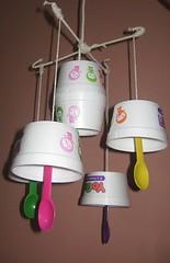 DIY Luminaire (irecyclart) Tags: lights trashart