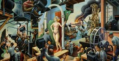 """Thomas Hart Benton's """"Hollywood"""" (journeyifc) Tags: 71366 2016366photos acceptance believe bible bless blessing blessings chapter christ chsocm church churches churchmedia community fammin cross exercises faith faithcommunity god gospel imperfect imperfectlyperfect jesus jifc journey journeyifc journeyimperfect journeyphotography life love ministry pastor photography prayer prayerexercises praying religion religions scripture scriptures service showyourcolors sunday theology unconditional verse world worship standforlove active actively allweneed assume garden gardenoflove humbily humility know loveawarenessaction middle neighbor serving think whattheworldneedsnow will wish"""