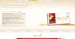 Storck Merci Edel-Marzipan (screenshot) (zazou.ciocolata) Tags: storck merci marzipan darkchocolate chocolatebar germany almond nut filledchocolate chocolatecoating screenshot