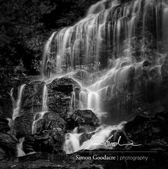 Close Up of Beaver Brook Falls in NH