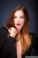 High Fashion (Pdooma) Tags: mac mackenzie blazer fashion necklace glamour studio brunette vogue