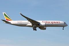 ET-ATQ-LHR 15 AUG 2016 (TW Aircraft Photos) Tags: etatq ethiopian a350