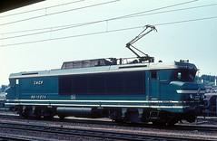 15004  Strabourg  06.09.74 (w. + h. brutzer) Tags: strasbourg eisenbahn eisenbahnen train trains frankreich france railway elok eloks lokomotive locomotive zug 15000 sncf webru analog nikon