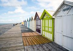Cayeux sur Mer (Somme) (louis.labbez) Tags: manche france somme labbez mer channel sea cabane couleur planche bois ciel galet plage 80 cayeuxsurmer picardie cabine chemin explore
