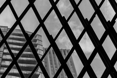 Seattle Central Library DSC03996-Edit (nianci pan) Tags: abstract seattle centrallibrary curve line pattern geometry geometric city cityscape landscape urban nianci pan sony sonyalpha dslr sonyphotographing architecture building reflection
