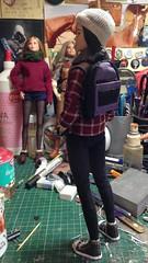 1/6th scale rucksack (Elrenia_Greenleaf) Tags: custombarbie custombarbieaccessories 16thscale playscale