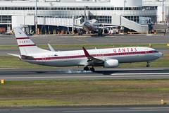 Qantas B737-800 VH-VXQ 'Retro Roo II' (altinomh) Tags: qantas b737800 vhvxq retro roo ii qf boeing b737 b738 sydney international airport yssy syd