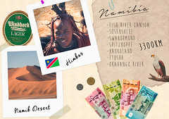 Journal de Voyage - Namibie (Darth Jipsu) Tags: journal de voyage travel diary namibia namibie himba desert dsert windhoek afrique africa safari