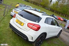 Mercedes Benz GLA 45 AMG 4 MATIC Hamilton 2015 (seifracing) Tags: park cars ford car fire mercedes benz scotland cops britain glasgow c south 4 country hamilton police meeting class 63 45 vehicles british van emergency polizei spotting strathclyde matic amg gla ecosse lanarkshire 2015 chatelherault seifracing