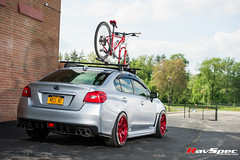 "RAYS TE37SL Hyper Red - Subaru WRX 15 • <a style=""font-size:0.8em;"" href=""http://www.flickr.com/photos/64399356@N08/17841259496/"" target=""_blank"">View on Flickr</a>"