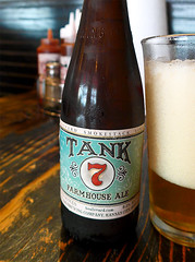 photo - Tank 7 Farmhouse Ale (Jassy-50) Tags: california beer photo bottle ale bbq bier alameda beerbottle farmhouseale belgianstyleale boulevardsmokestackseries tank7 tank7farmhouseale bestlilporkhouse