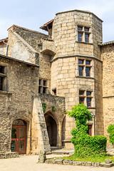 Le prieur - Tour Nord du XVIme sicle (yann.dimauro) Tags: france chateau fr rhone moyenge moyen ge rhnealpes prieur taluyers