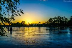 Karlstad IV (johan.bergenstrahle) Tags: longexposure sunset june juni river landscape evening älv karlstad hdr solnedgång landskap 2015 kväll finepics långtid