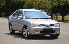 2004 Proton Waja 1.6 AT (ENH) in Ipoh, MY (05, Exterior) (Aero7MY) Tags: 2004 car sedan malaysia 16 saloon ipoh enhanced proton enh waja 16l 4door impian at 4g18