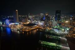 Kobe port city at night (Proj de Castro) Tags: longexposure nightphotography travel autumn japan night kobe kansai hdr a6000 autumnfeels