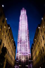 Top o the rock (trinbird) Tags: nyc vacation newyork spring nikon purple topoftherock rockerfeller d3200
