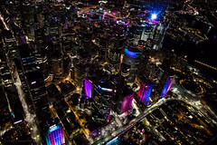 Sydney, Australia (tenich) Tags: color colour sydney vivid australia aerial helicopter darlingharbour cbd aerialphotography sydneyharbour sydneyoperahouse sydneyharbourbridge 2016 teniche sydneyaerial theresahall vividsydney sydney2016 australia2016 vivid2016 vivid2016sydney