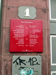 IMG_0626 (Autistic Reality) Tags: house building history architecture germany de deutschland europe frankfurt structure he darmstadt frankfurtammain guesthouse rmerberg hesse bundesrepublikdeutschland holyromanempire federalrepublicofgermany holyromanemperor hauswertheim wertheimhouse hilloftheromans