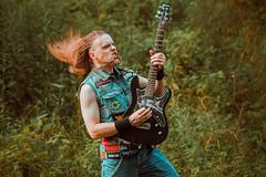 IMG_5232 (rodinaat) Tags: longhair longhairman longhairedman longhaired beard bearded metal metalhead powermetal trashmetal guitar musican guitarplayer brutal forest summer sun