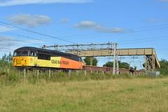 27-07-16 Colas Railfreight 56113 - 6C52 Crewe Basford Hall - Latchford Sidings (Lukas66538) Tags: class 56 56113 56302 peco acton bridge 6c52 crewe basford hall latchford colas railfreight rail freight railvac