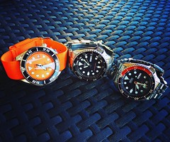 Holidays Watches (Fana ) Tags: seiko sbdc005 sumo montre timepiece hour horloge wristwatch watch watches automatic automatique orange dial diver plongeuse nato scuba watchelse fanawatches seikodiver bracelets straps skx skx007 skx009 casio holidays trip travel