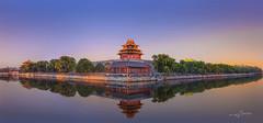 Beijing Plalace Museum, China (Albert Photo) Tags: lake reflection tower wall pagoda beijing beijingplalacemuseumchina templebeijingplalacemuseumchina