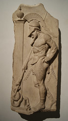 Greek soldier (CptSpeedy) Tags: london england unitedkingdom uk museum national britain greek warrior relief stone history ancient marbel hellenistic cuirass sculpture sony
