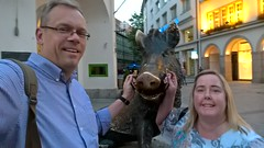 Munich (heytampa) Tags: david statue germany munich hey cheryl boar fitzpatrick porcellino davidhey