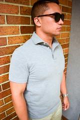 Sunglasses, polo shirt (kent_wang) Tags: stylesofman customer outfit poloshirt sunglasses keyhole