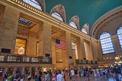 20160724_DSC4536 (Todd Plunkett) Tags: vacations 2016summervacation grandcentralterminal flag newyorkcity newyork unitedstates usa
